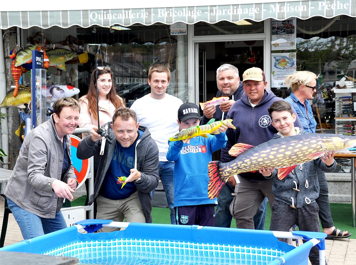 Canne A Peche Fait Maison magasin de pêche dans le finistère (29).